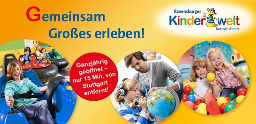 Ravensburger Spieleland_Start_Ravensburger Kinderwelt Kornwestheim